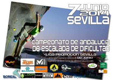 CARTEL CAMPEONATO DE ANDALUCÍA - SEVILLA 2014